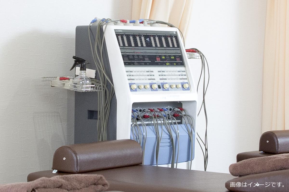 牽引器、マイクロ、SSP、干渉波、紫外線治療器、聴力検査器
